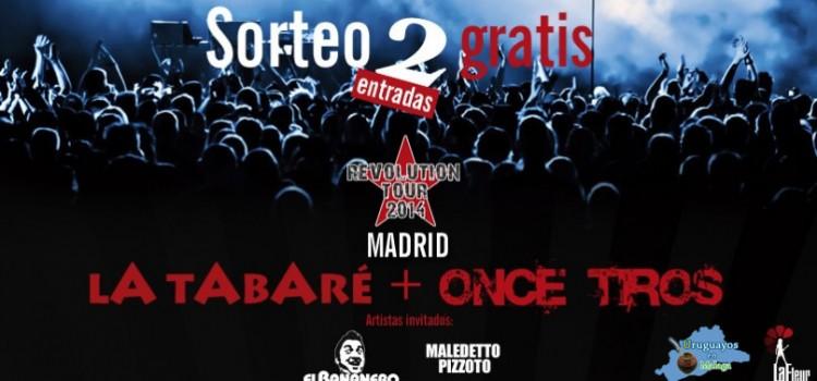SORTEO, La Tabare y Once Tiros
